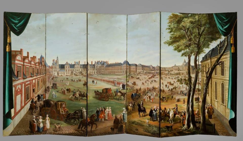 Exposition Louis XV à Fontainebleau en 2016 12919810