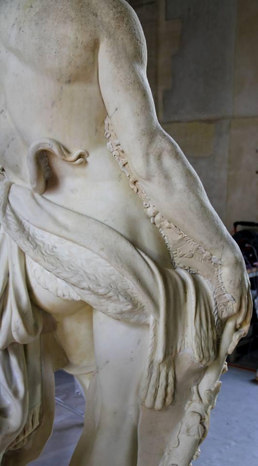Visite à l'atelier de restauration des sculptures du C2RMF - Page 2 12974210