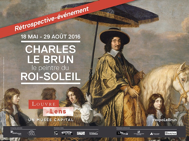 lens - Exposition Charles Le Brun au Louvre Lens, mai-août 2016 Affich11