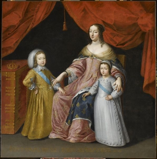 L' Art et l'enfant. Chefs-d'œuvre de la peinture française Anne_d10