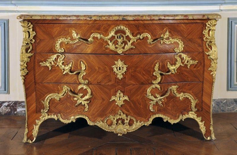 Exposition Louis XV à Fontainebleau en 2016 Commod10
