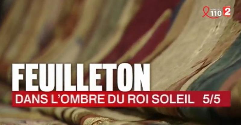 France2 13h : le tricentenaire de la mort de Louis XIV  Feuill12
