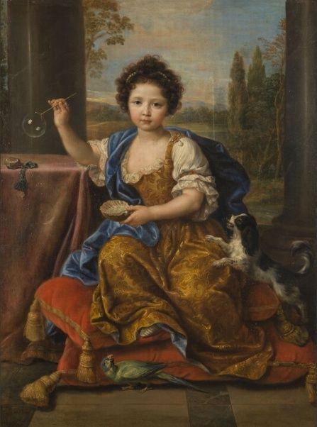 L' Art et l'enfant. Chefs-d'œuvre de la peinture française Louise10