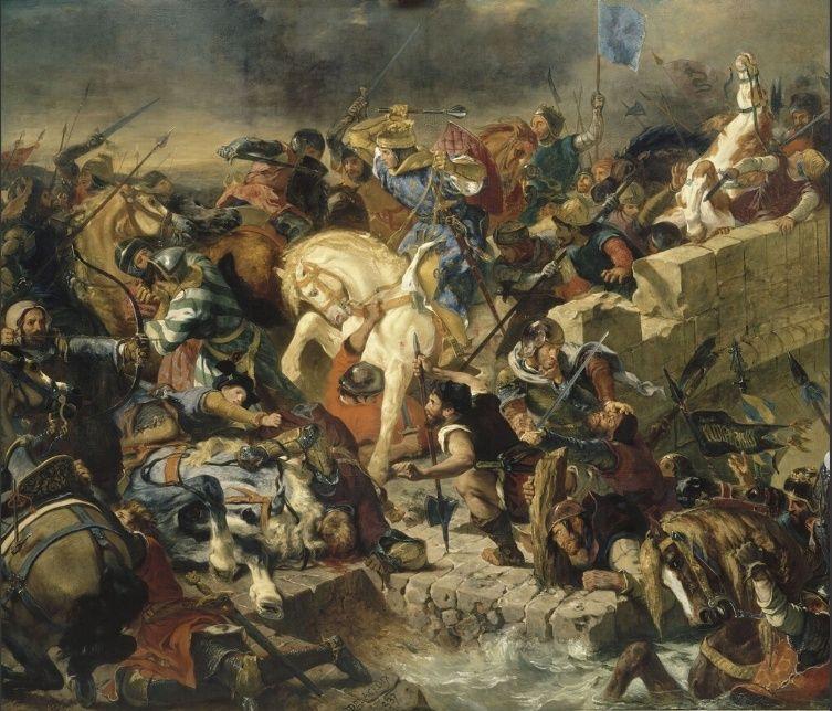 Cognac : Eugène Delacroix et la bataille de Taillebourg Taille10