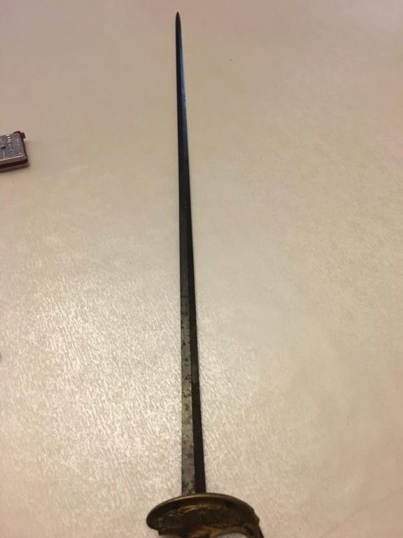 Epée de général au coq Img_1610