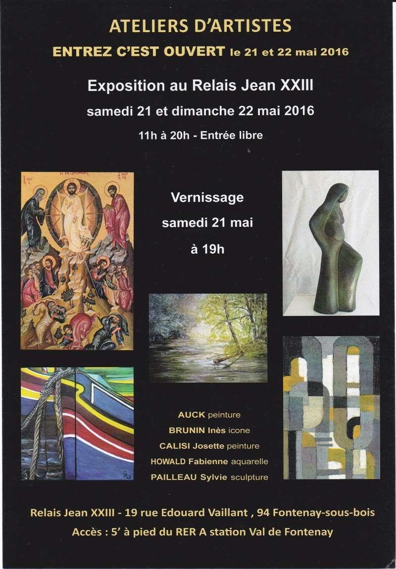 Exposition au Relais Jean XXIII Expo10