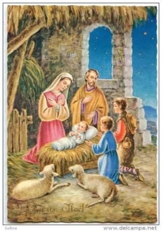 Très joyeuses fêtes de Noël a tous, dans la paix et l'amour du Christ! Berger12