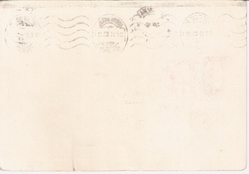 nach - Südamerikafahrt 1930, Post nach Praia (Kapverdische Inseln) Santa_12