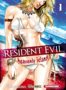 SERIZAWA Naoki - Resident Evil : Heavenly Island Vol.1 Couv6010