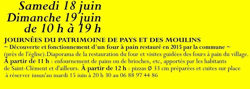 Animation mai à septembre 2016 Association de sauvegarde et de mise en valeur de Saint-Clément-sur-Guye. 18_jui11