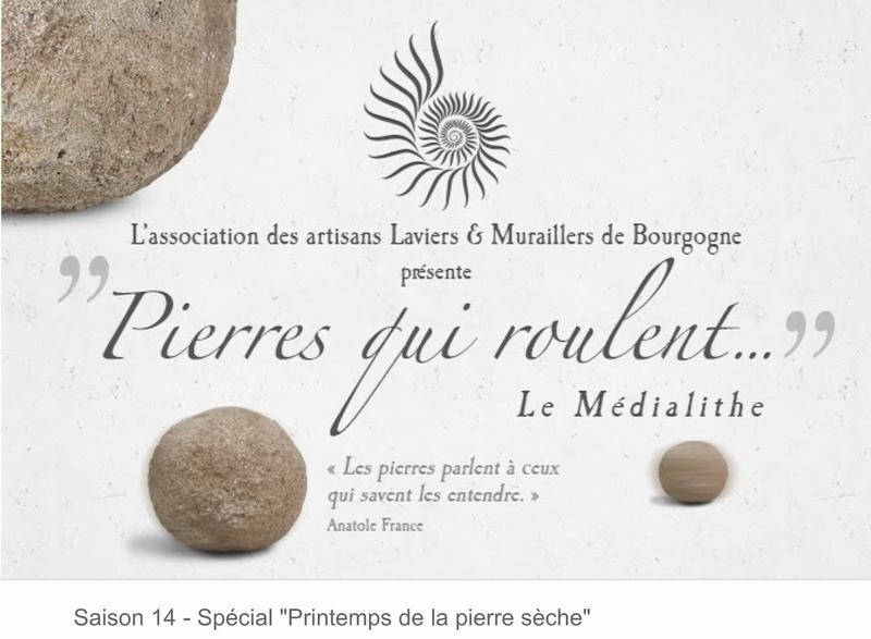 """Pierre qui roule  Saison 14 - Spécial """"Printemps de la pierre sèche"""" 1_copi14"""