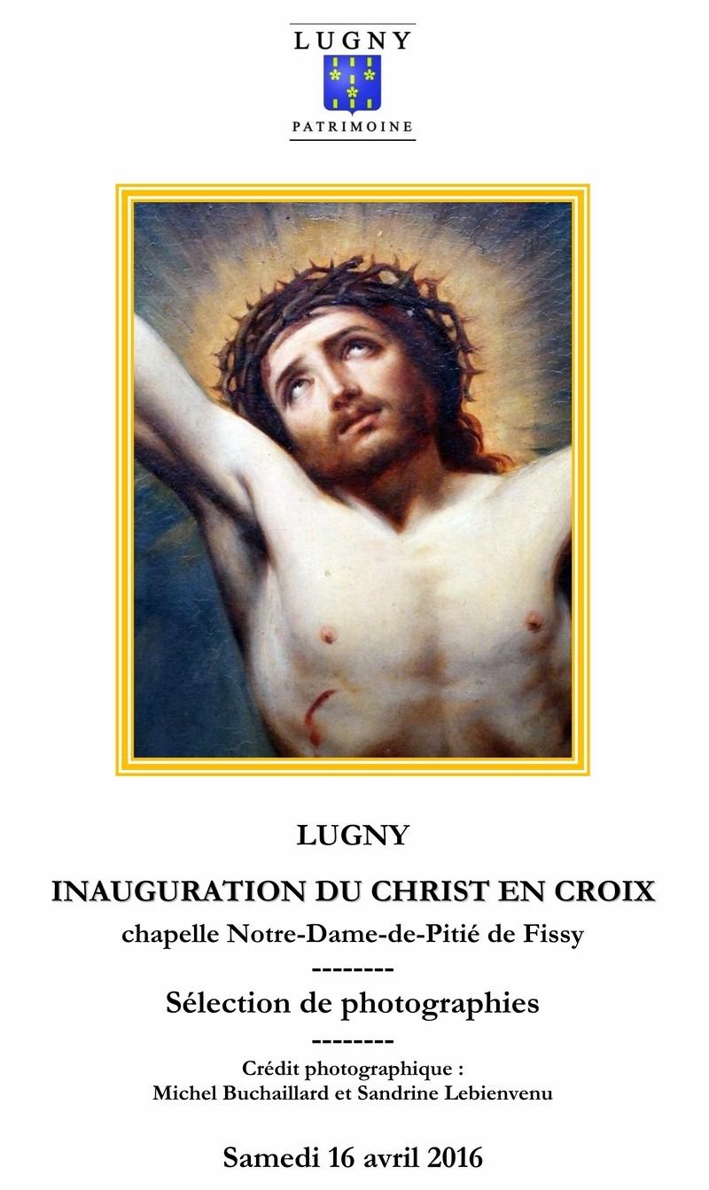 Cérémonie d'inauguration du Christ en Croix organisée à l'initiative de Lugny Patrimoine en lien avec la commune de Lugny  1_copi16