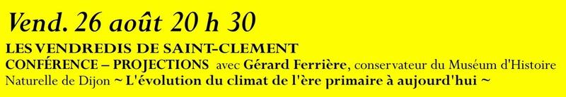 Animation mai à septembre 2016 Association de sauvegarde et de mise en valeur de Saint-Clément-sur-Guye. 26_aou10