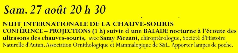 Animation mai à septembre 2016 Association de sauvegarde et de mise en valeur de Saint-Clément-sur-Guye. 27_aou10