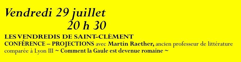 Animation mai à septembre 2016 Association de sauvegarde et de mise en valeur de Saint-Clément-sur-Guye. 29_jui10