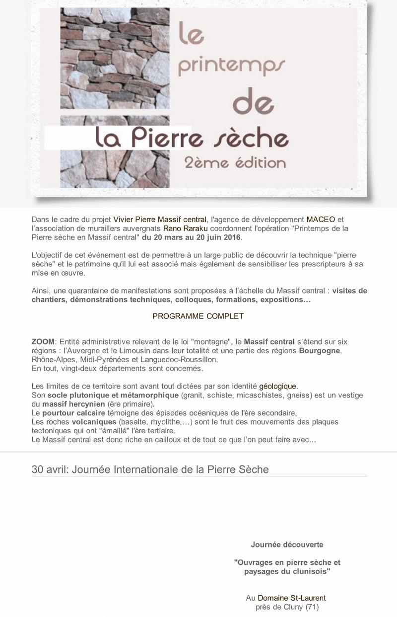 """Pierre qui roule  Saison 14 - Spécial """"Printemps de la pierre sèche"""" 2_copi12"""