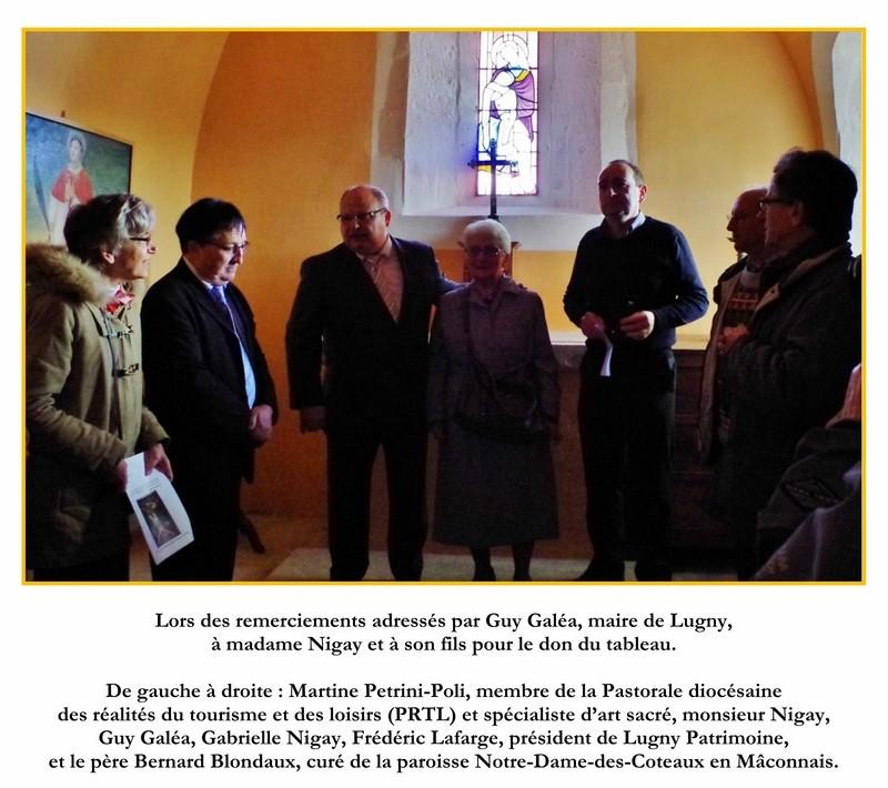 Cérémonie d'inauguration du Christ en Croix organisée à l'initiative de Lugny Patrimoine en lien avec la commune de Lugny  2_copi13