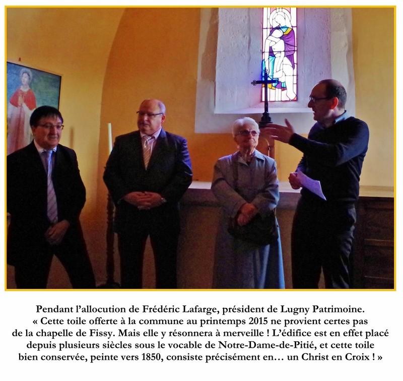 Cérémonie d'inauguration du Christ en Croix organisée à l'initiative de Lugny Patrimoine en lien avec la commune de Lugny  3_a_co10