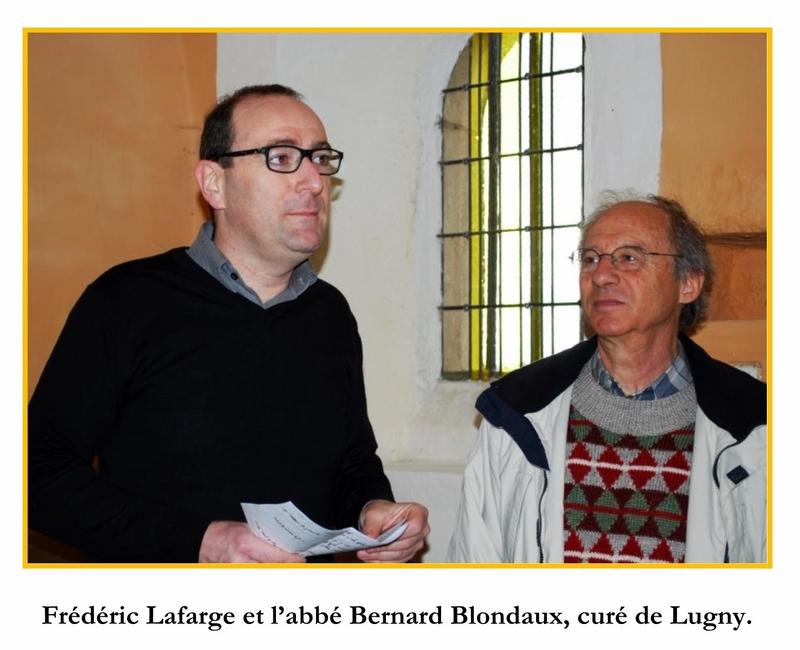 Cérémonie d'inauguration du Christ en Croix organisée à l'initiative de Lugny Patrimoine en lien avec la commune de Lugny  3_copi13