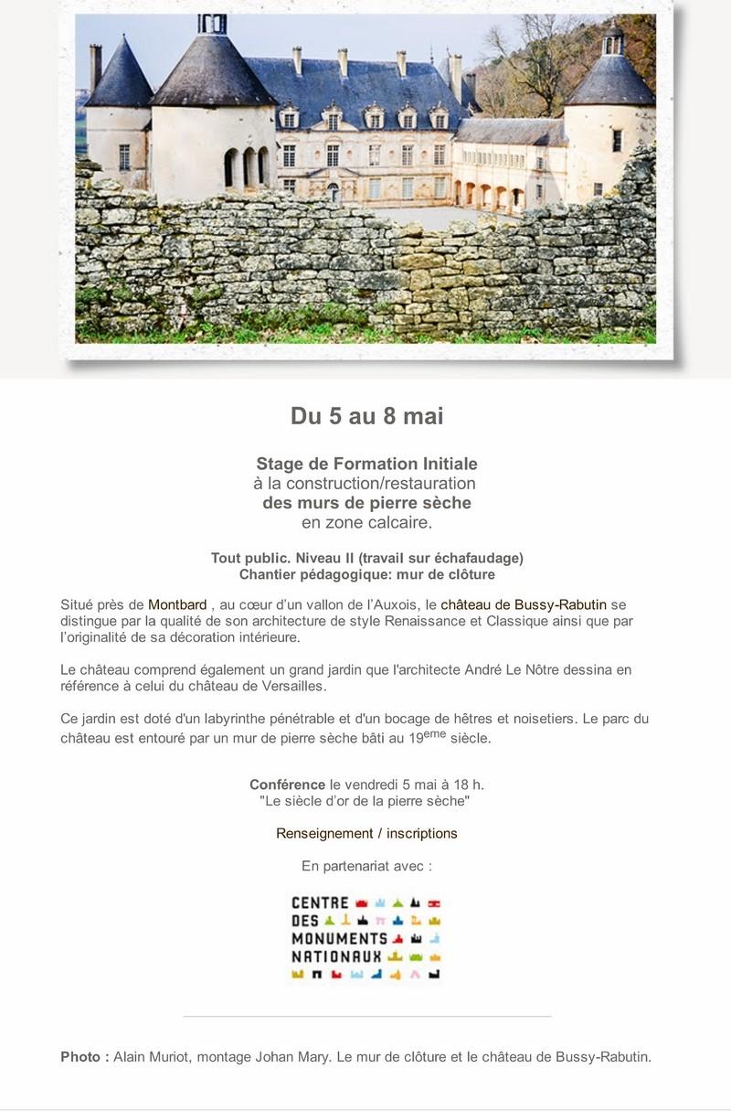 """Pierre qui roule  Saison 14 - Spécial """"Printemps de la pierre sèche"""" 5_copi11"""