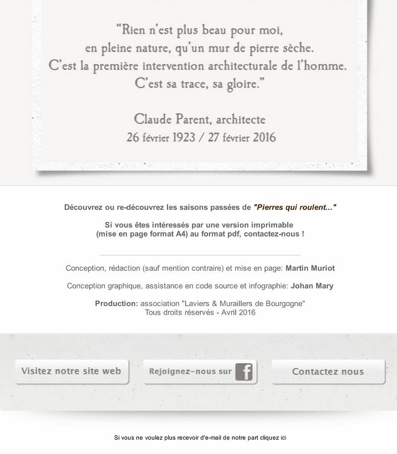 """Pierre qui roule  Saison 14 - Spécial """"Printemps de la pierre sèche"""" 9_copi10"""