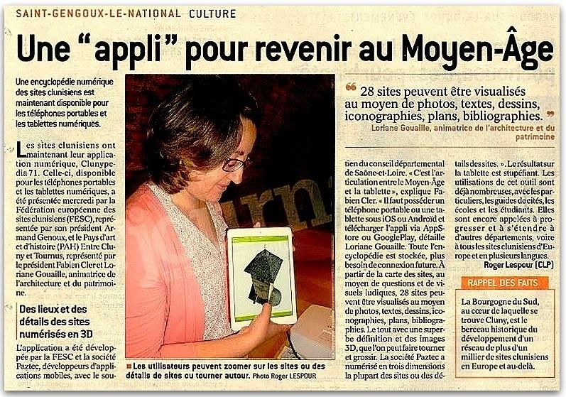 """Une """" appli """" pour revenir au Moyen-Âge Encycl10"""