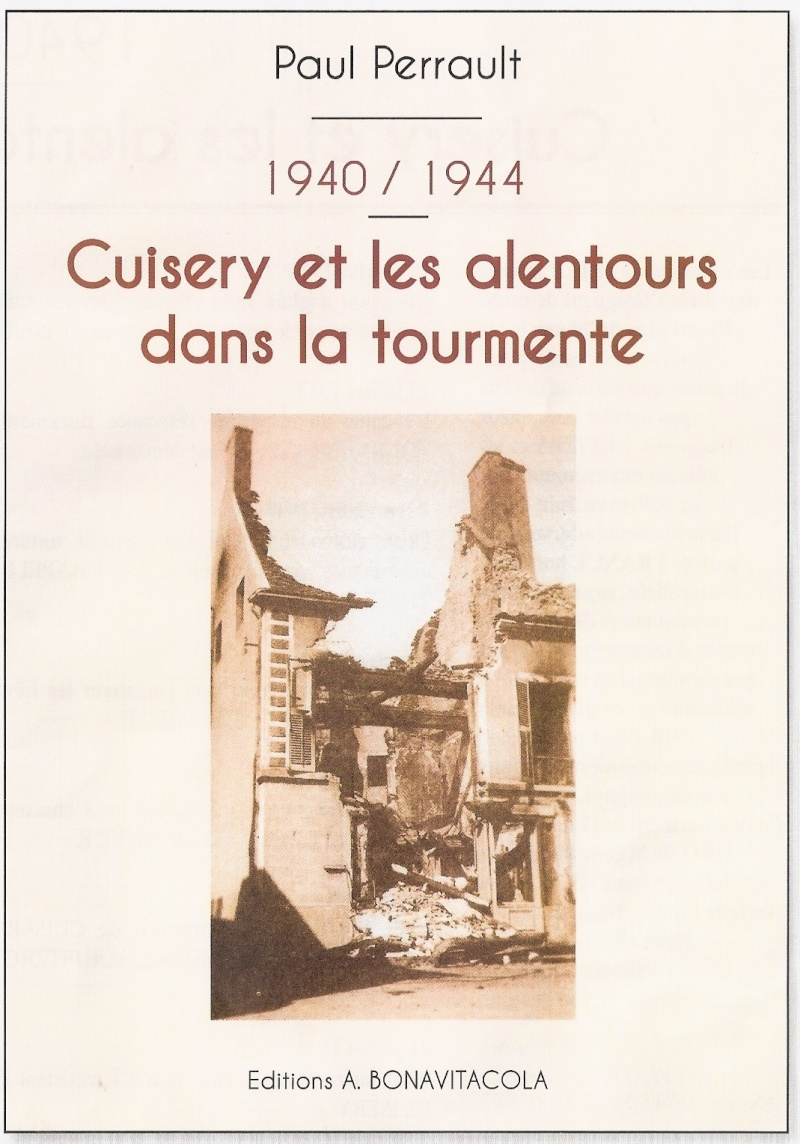 1940/1944 Cuisery et les alentours dans la tourmente Paul_110