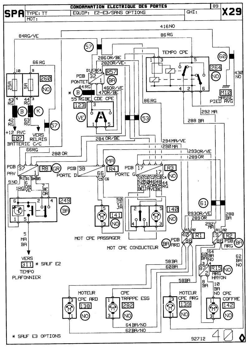 help : recherche schéma électrique centralisation de renault 25 2_page10