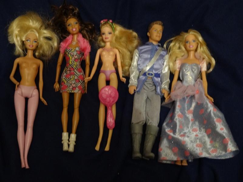 récapitulatif de mes trouvailles Barbie23