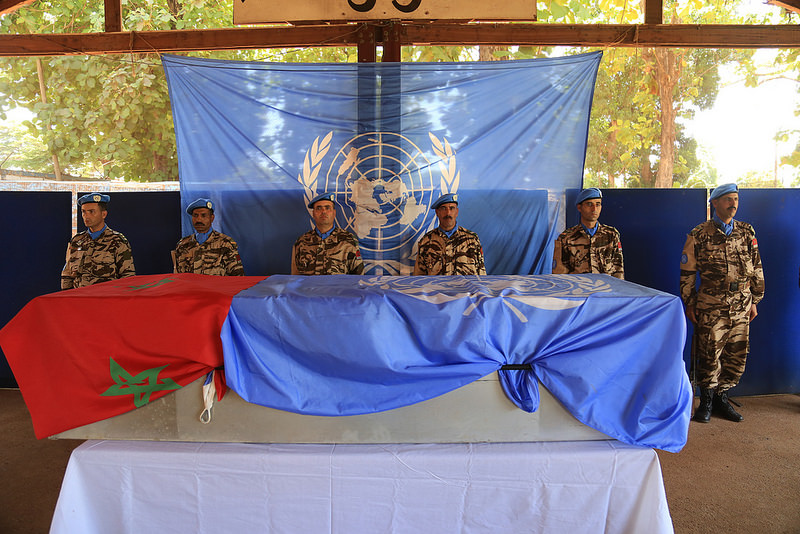 Maintien de la paix dans le monde - Les FAR en République Centrafricaine - RCA (MINUSCA) - Page 3 2520