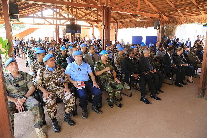 Maintien de la paix dans le monde - Les FAR en République Centrafricaine - RCA (MINUSCA) - Page 3 2719