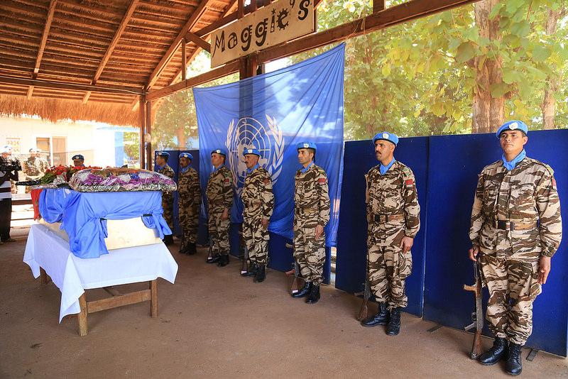 Maintien de la paix dans le monde - Les FAR en République Centrafricaine - RCA (MINUSCA) - Page 3 3412