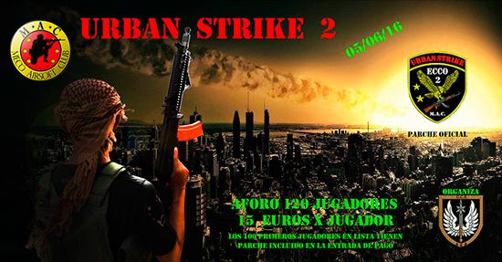URBAN STRIKE II (aforo completo) 55011