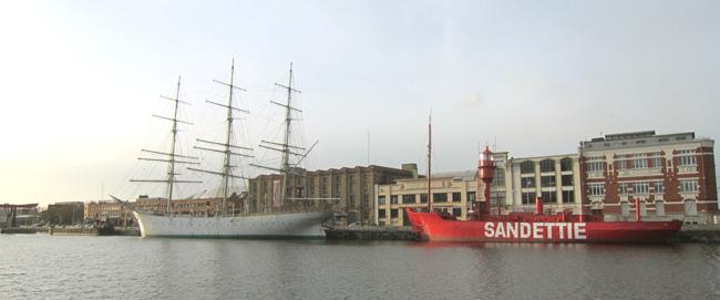 les bateaux feu (phare) Nord1810