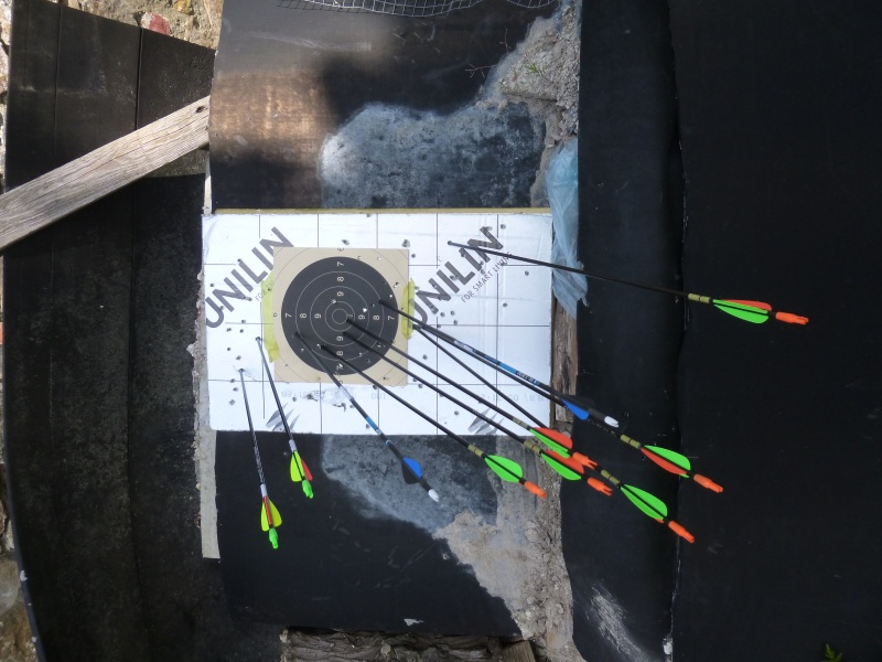 Invitation au tir à l'arc 2016 à Sprimont P1060619