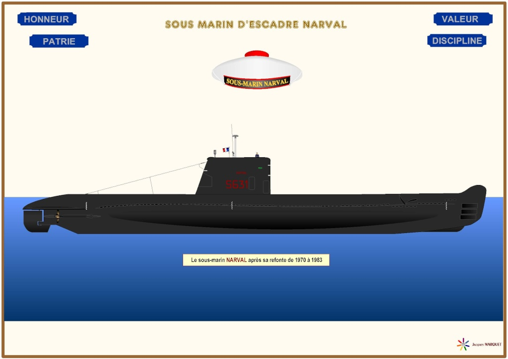 FRANCE SOUS MARINS CLASSE NARVAL - Page 2 Narval10