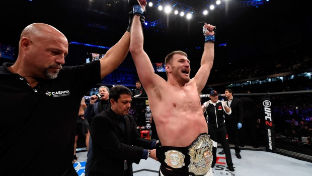 Could Stipe Miocic Be UFC's 'Next Great Heavyweight'? 14632910