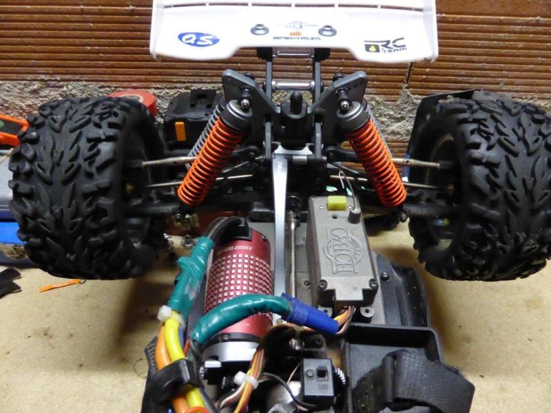 Amortisseurs Truggy Hyper ST P1000811