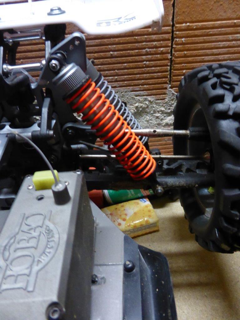 Amortisseurs Truggy Hyper ST P1000812