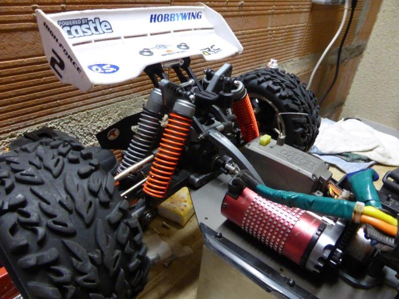 Amortisseurs Truggy Hyper ST P1000813