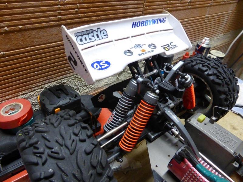 Amortisseurs Truggy Hyper ST P1000814