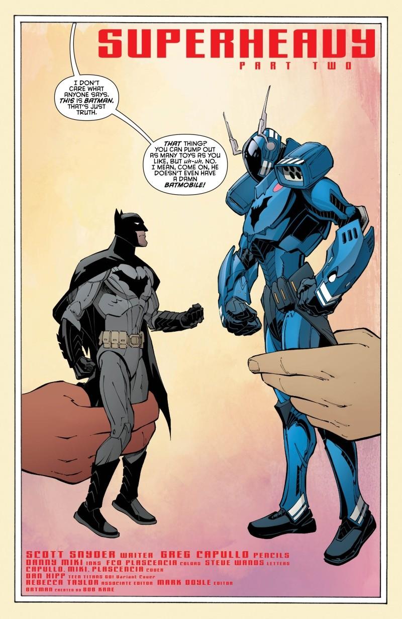 Batman Tome 8 La Relève 1ère Partie  46728710