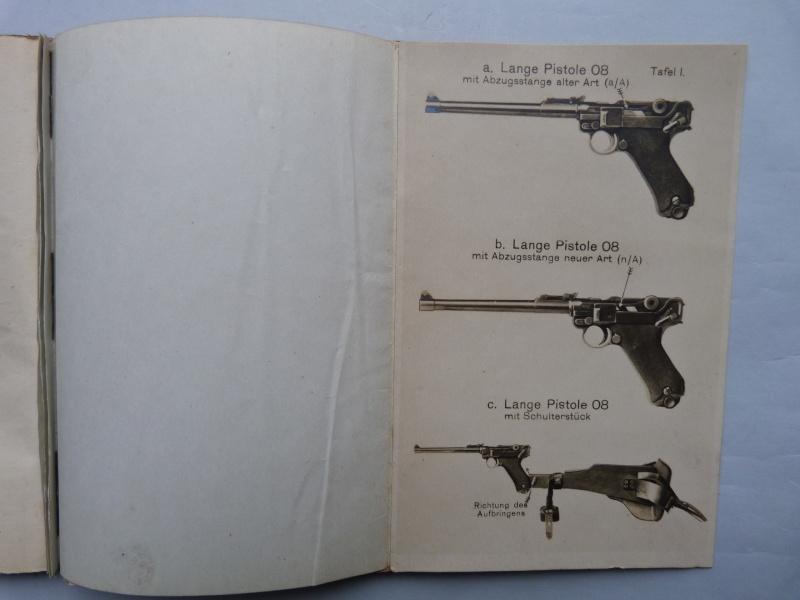 Manuel en langue allemande sur le P 08/14 LP et sa traduction en langue française. Manuel14