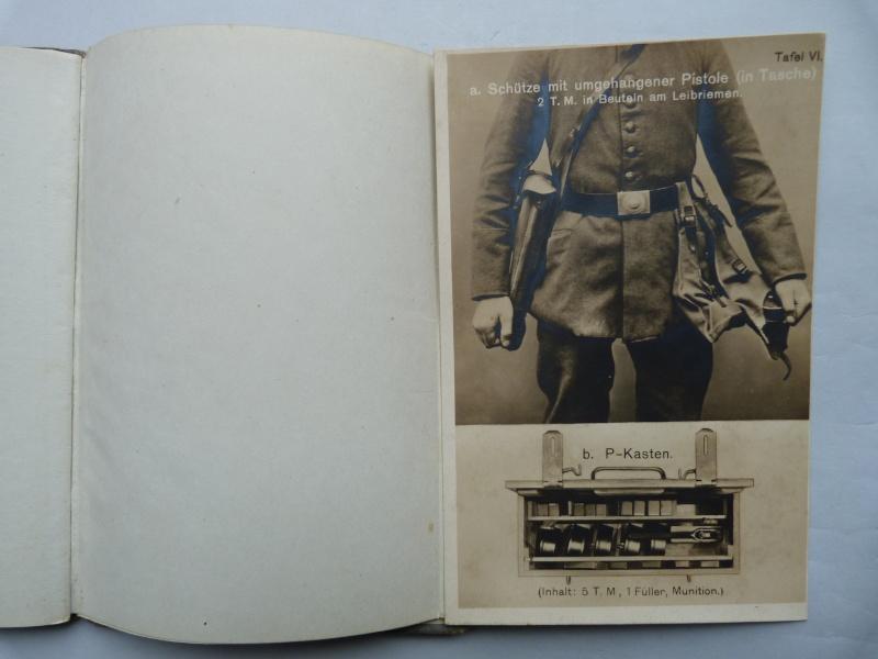 Manuel en langue allemande sur le P 08/14 LP et sa traduction en langue française. Manuel16