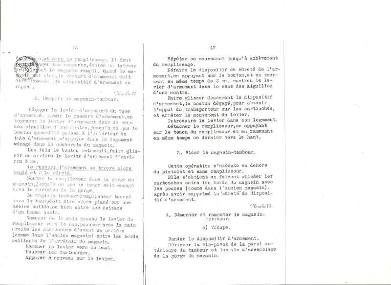 Manuel en langue allemande sur le P 08/14 LP et sa traduction en langue française. Manuel21