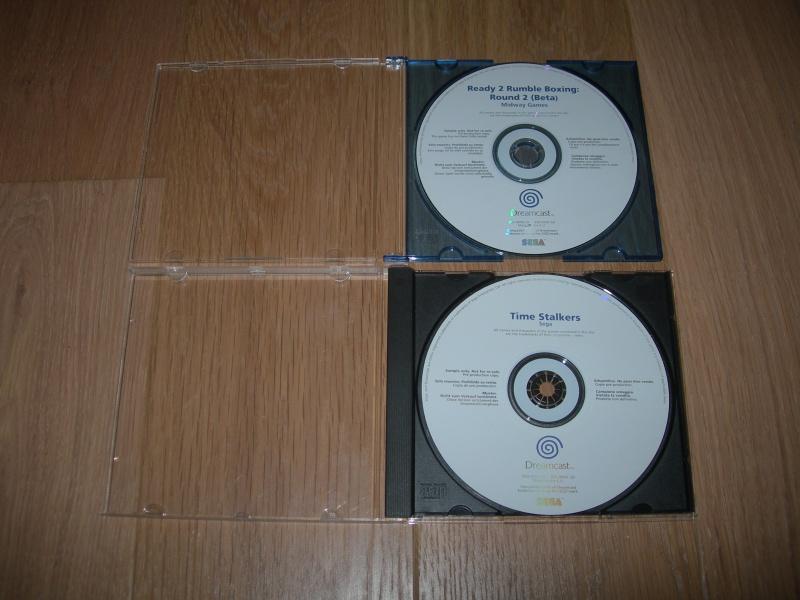 [VENDU ] 2 Jeux Dreamcast Sample/WhiteLabel Dscn9110