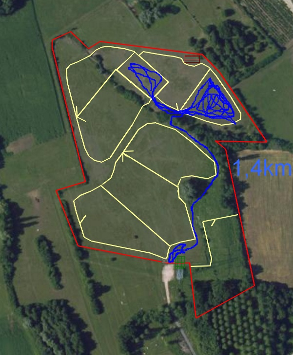 Mesures GPS de déplacement au pré - Page 2 Parcou11