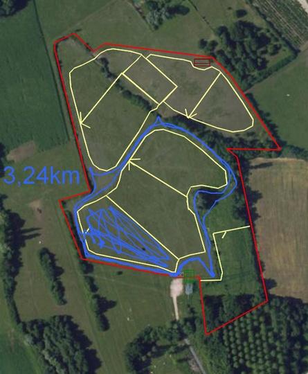 Mesures GPS de déplacement au pré - Page 3 Parcou13