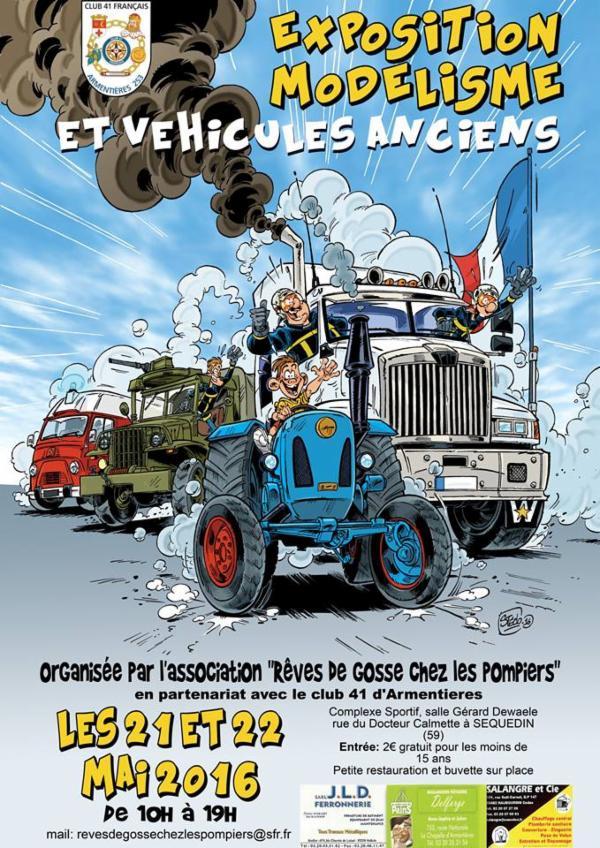 Exposition modélisme et véhicules anciens - Sequedin _wsb_610