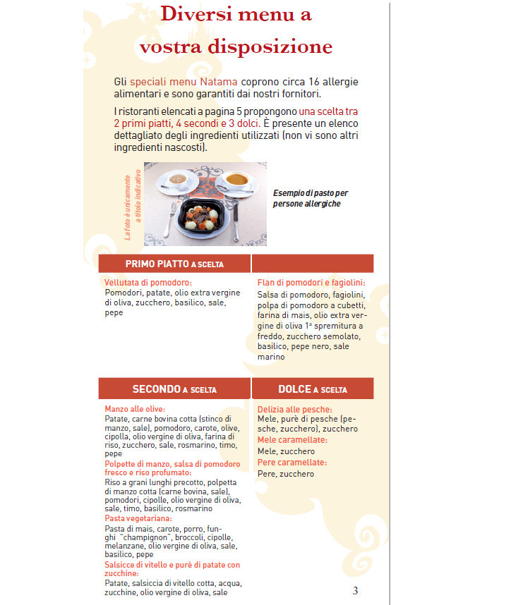Intolleranze e allergie alimentari, menù particolari - Pagina 3 Menu110